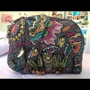"""Mary Frances Brown """"Elephant Dance"""" Shoulder Bag"""